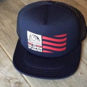 (4 FOR $25 SALE) NWT Vans US Open Of Surfing Hat